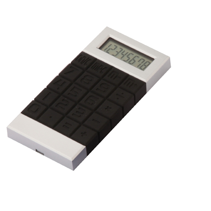 Squares Calculator Black/Silver