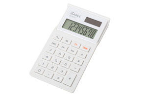 Collegio Pocket Calculator White