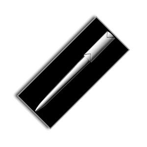 Metal Letter Opener Silver