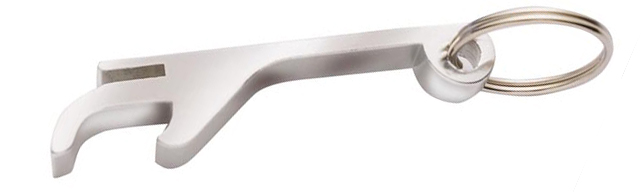 Talon Opener Metallic Silver