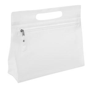 Vanity Bag Frosted White