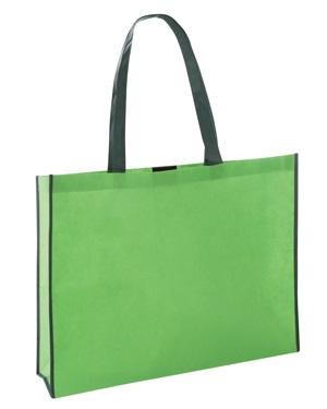 Verdant Non Woven Bottle Bag Green/Dark Green