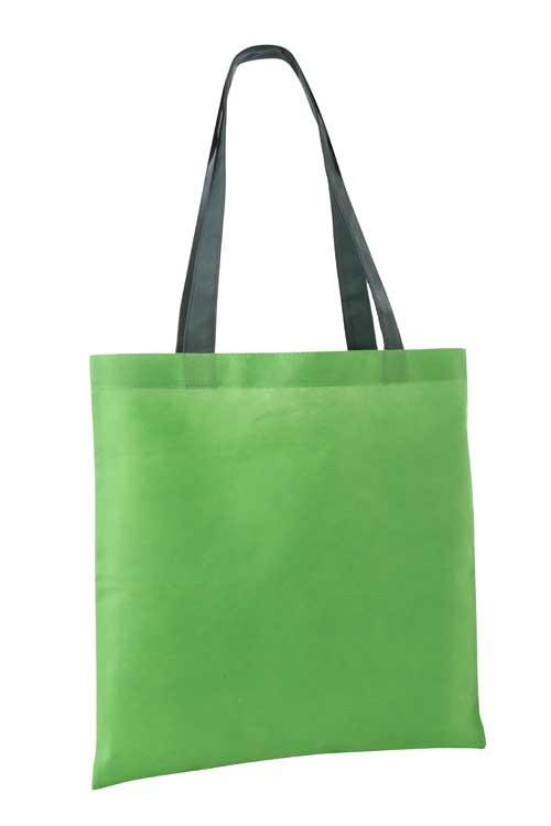 Verdant Non Woven Shopping Bag Green/Dark Green
