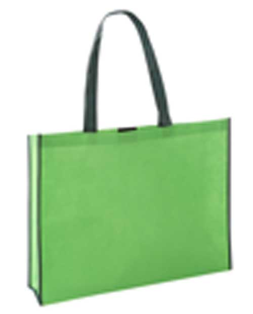 Verdant Non Woven Big Shopper Green/Dark Green