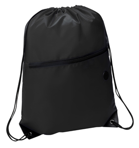 Rio Sports Pack with Front Zipper Black