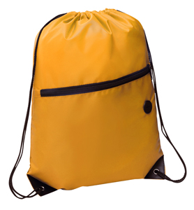 Rio Sports Pack with Front Zipper Yellow