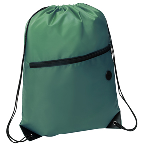 Rio Sports Pack with Front Zipper Green