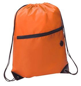 Rio Sports Pack with Front Zipper Orange
