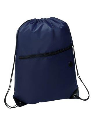 Rio Sports Pack with Front Zipper Navy Blue