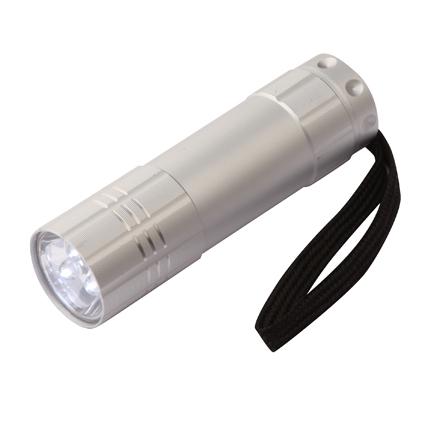 Aluminium Torch Silver