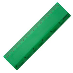"""6 Ruler - Green/Green"""""""