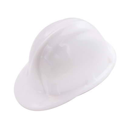 Hard Hat Pencil Sharpener White