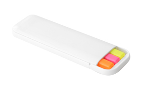 Highlighters Case of 3 White/Multi