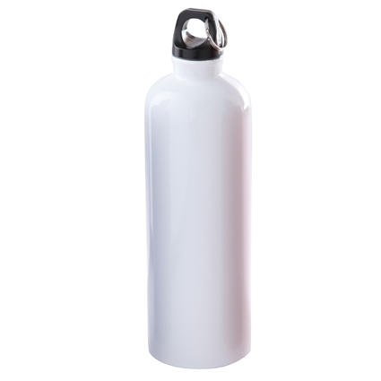 25oz Stainless Steel Bike Bottle White/Black