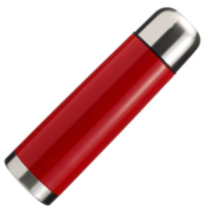 500ml Vacuum Flask Red/Silver