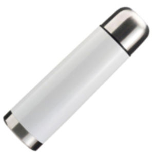 500ml Vacuum Flask White/Silver