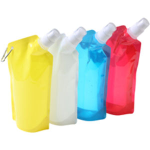 650ml Collapsible Bottle Red