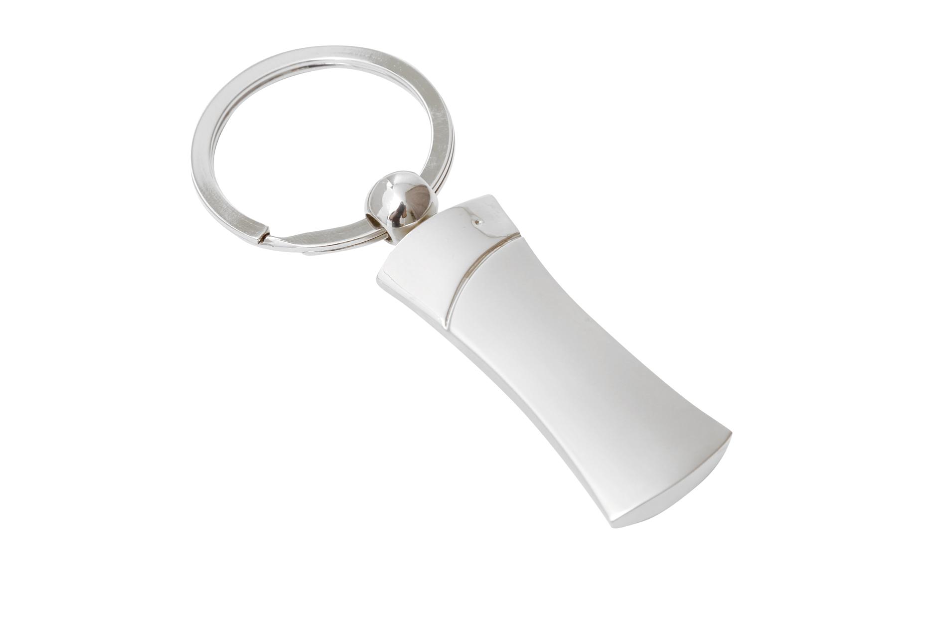 Torso Keyring Silver