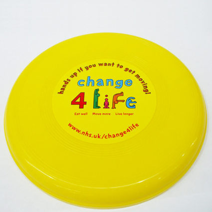 Large Flying Disc Yellow