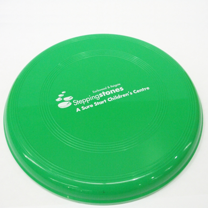 Large Flying Disc Green
