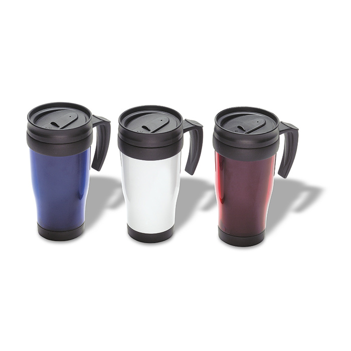 Tampa Travel Mug White