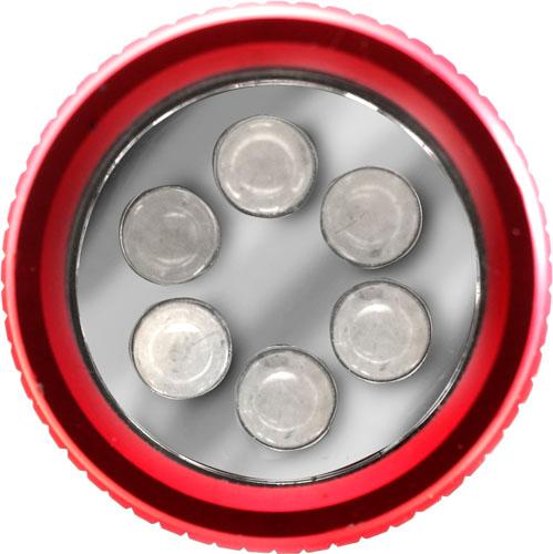 Push button aluminium torch