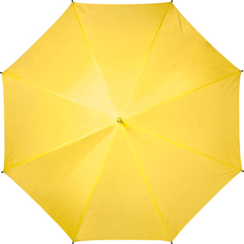 Automatic umbrella with eight panels.