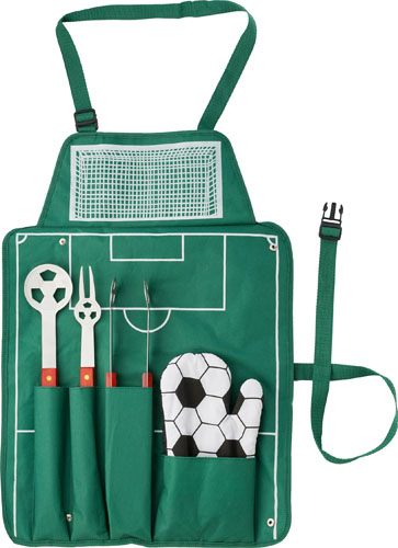 5pc Football BBQ set.