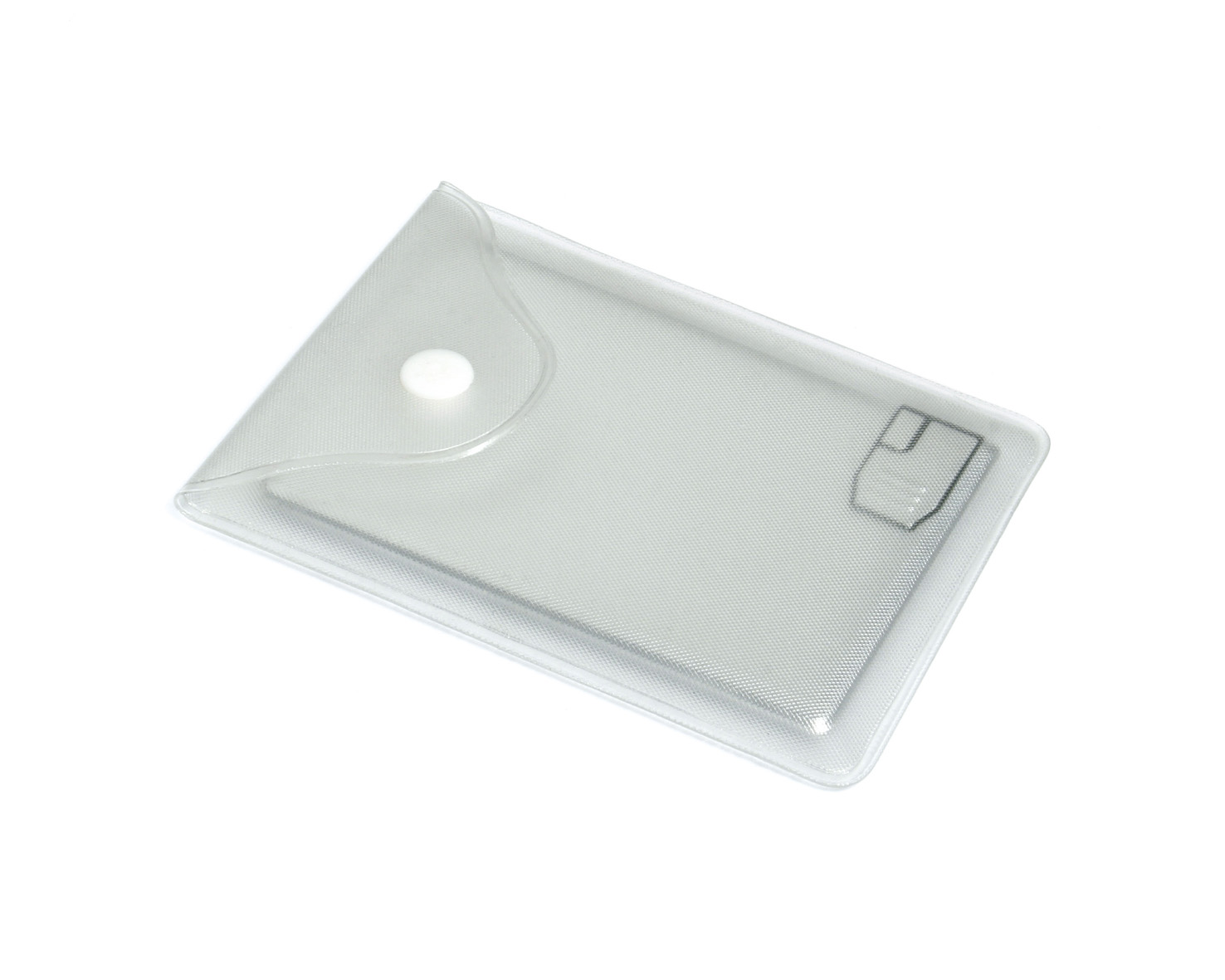 Clear Card USB Pouch