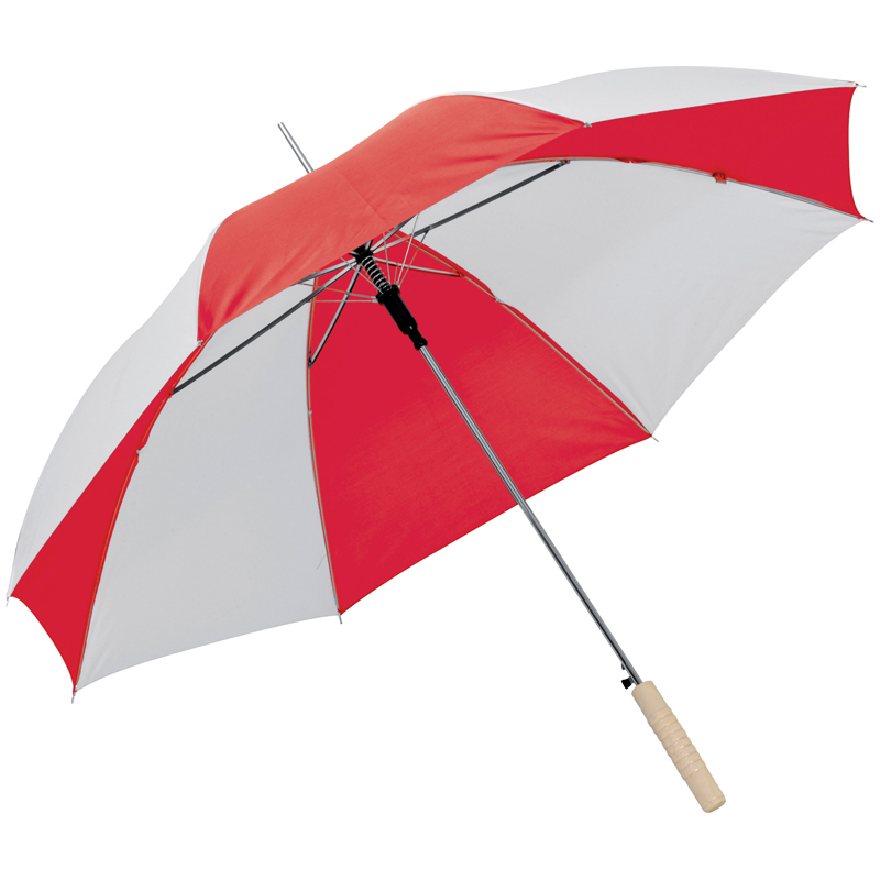 Bicoloured automatic umbrella