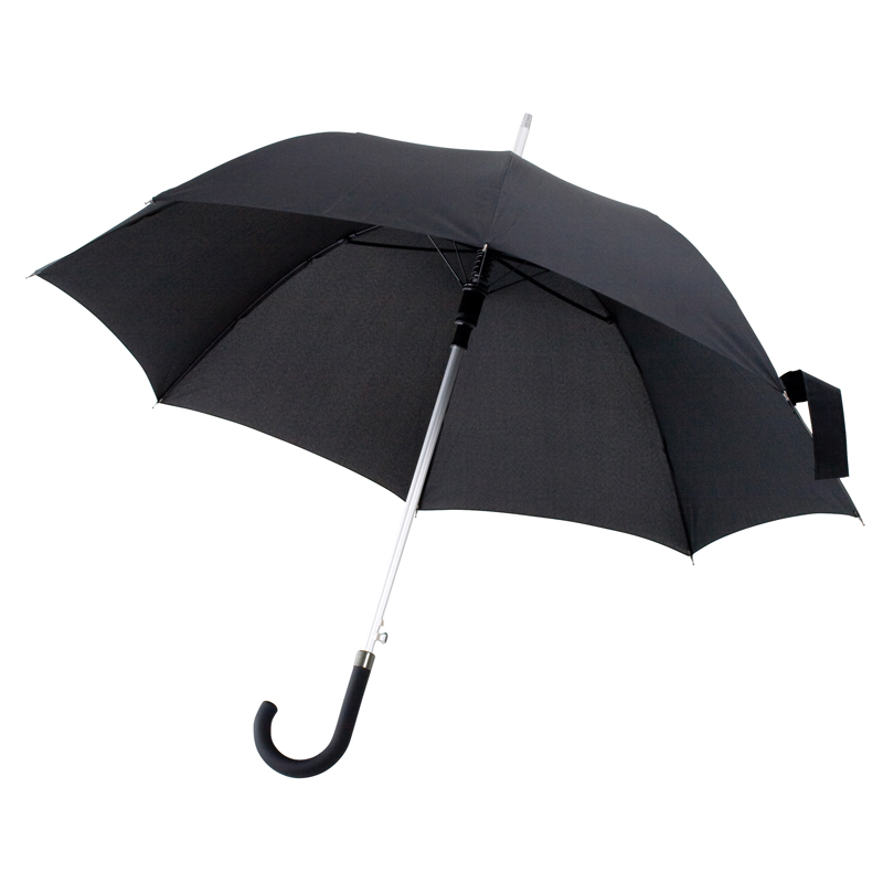 Automatic umbrella with aluminium bar
