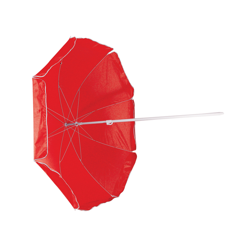 Parasol in a transparent bag