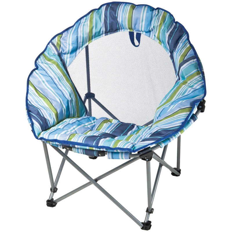 Round-shaped beach chair