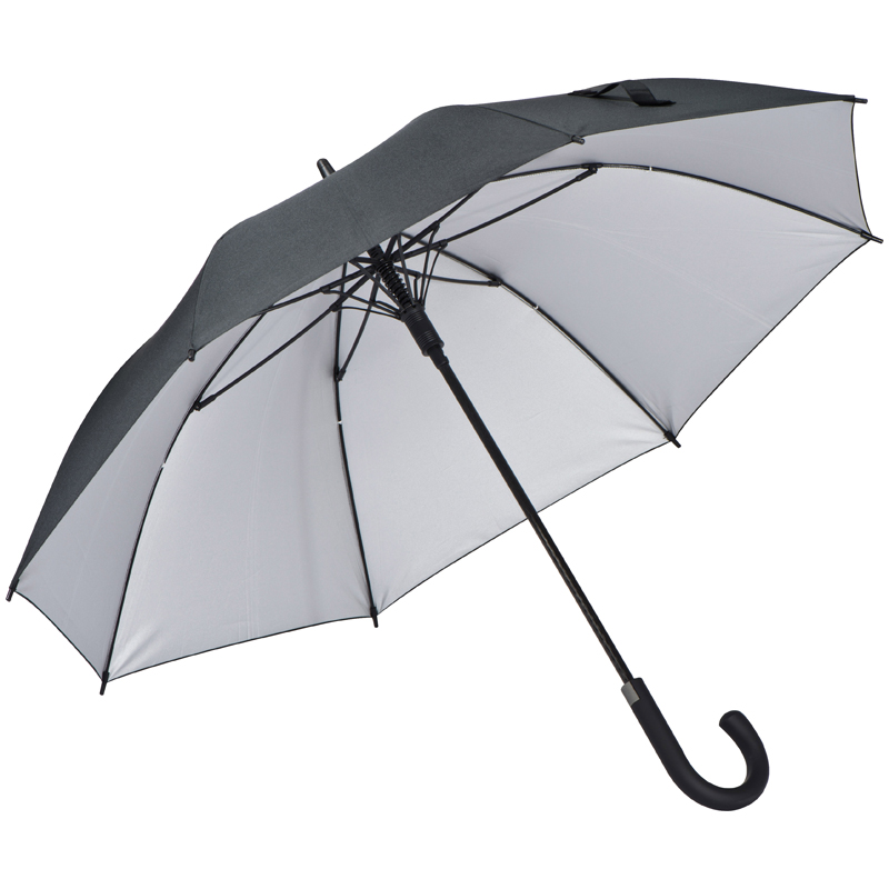 Ferraghini umbrella made of pongee, aluminum shaft and fiber glass ribs
