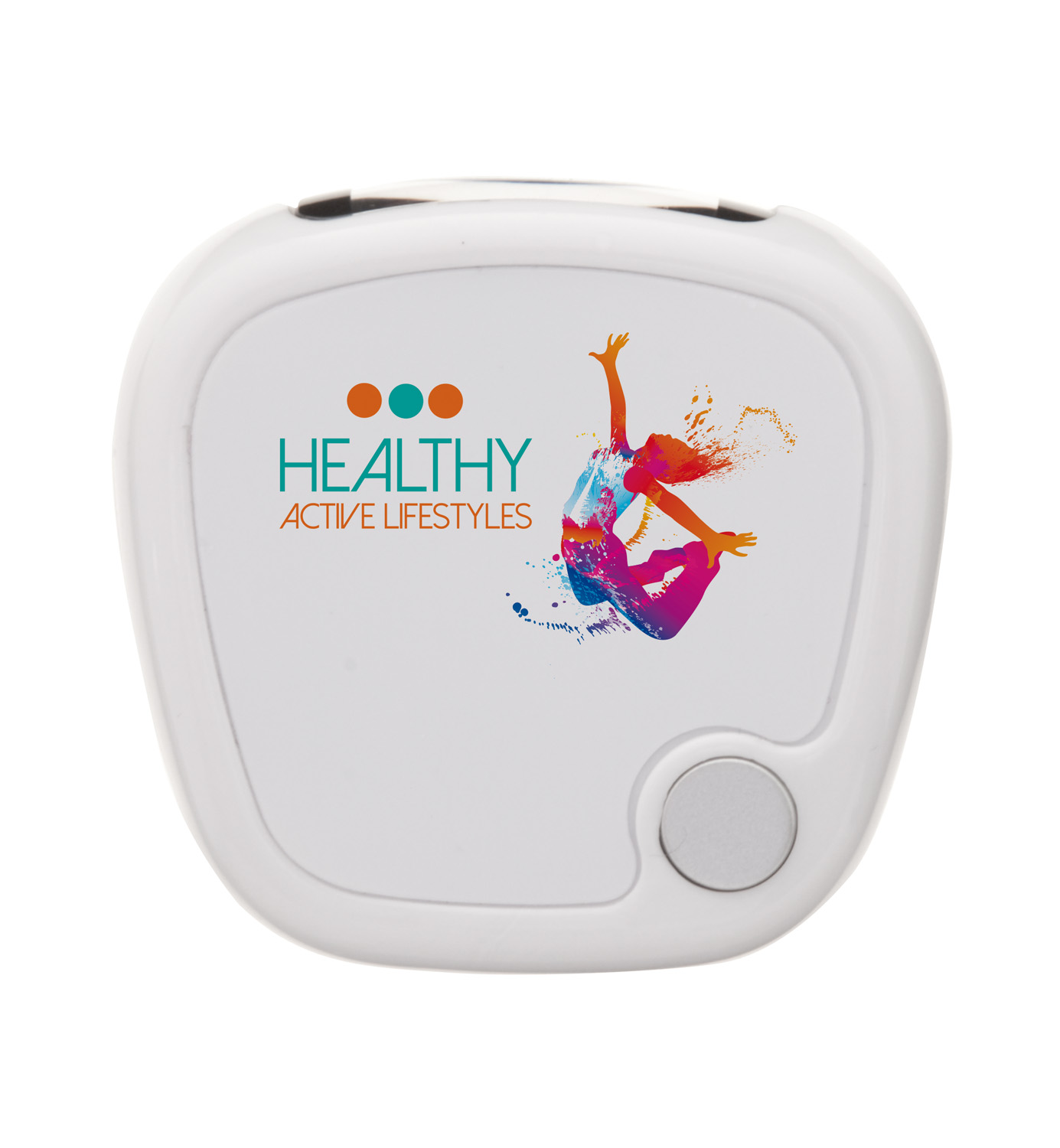 Colour Pedometer ( Digital print - white product )
