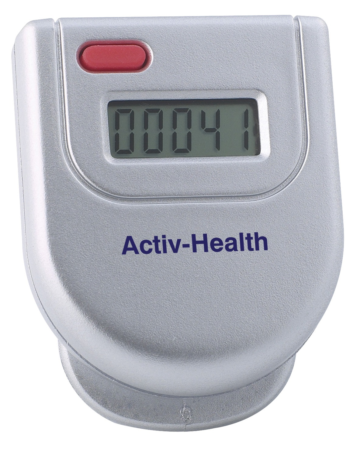 Silver Pedometer ( 1 col under display )