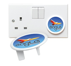 Recycled Plug Socket Protector (Full Colour Print)