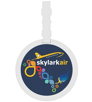 Circular Bag Tag (Full Colour Print)