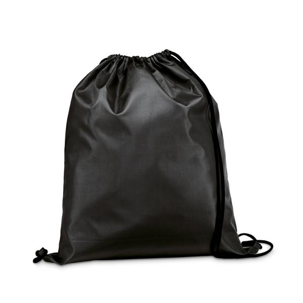 Drawstring bag.