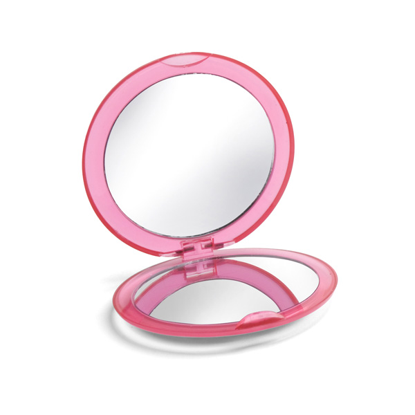 Make-up mirror.