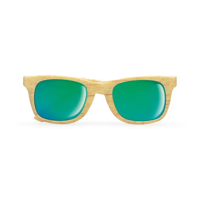 Wooden look sunglasses         MO9022-40