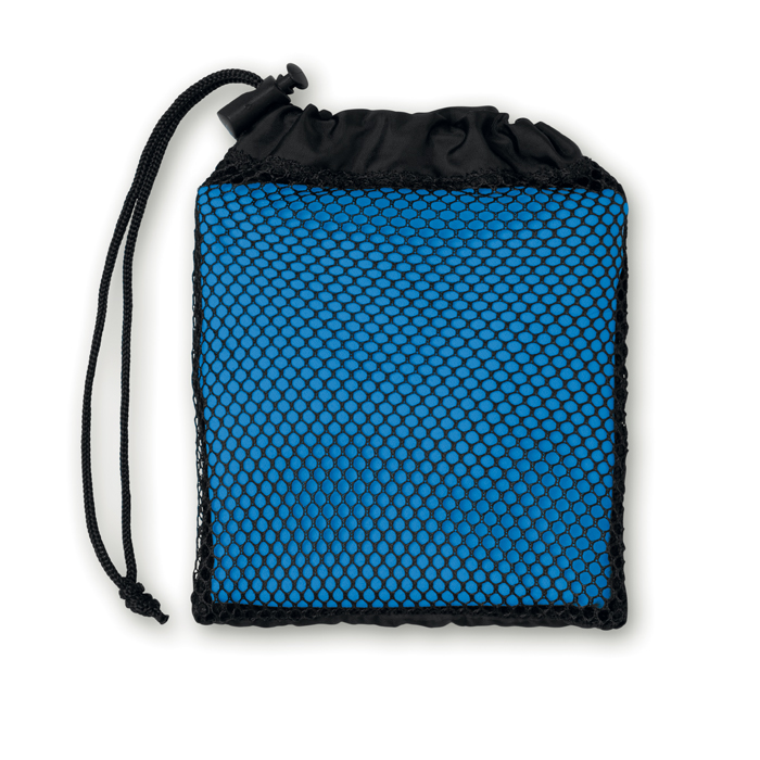 Sports towel with pouch        MO9025-37